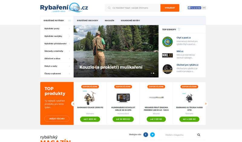web rybaření.cz