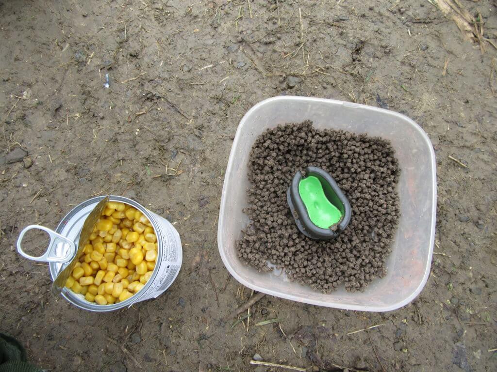 Kukuřice a pelety