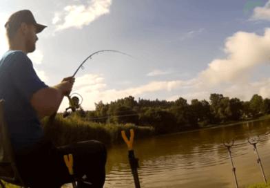 Video: Záběr a zdolávání kapra na method feeder