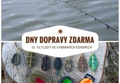 Dny dopravy zdarma v rybářskýche shopech