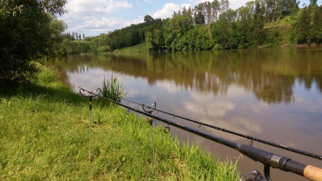 rybník Hůrka ve východních Čechách