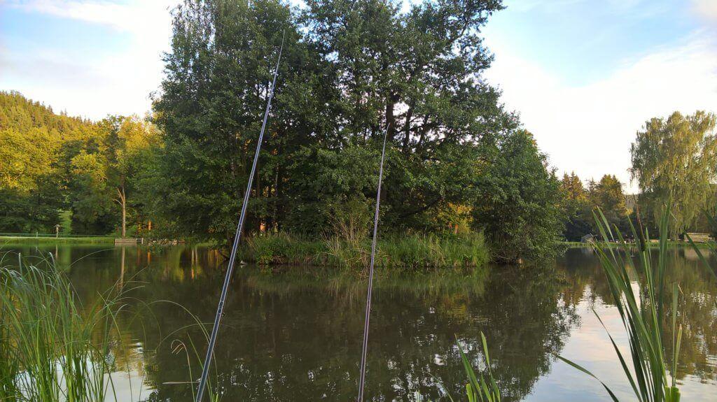 rybník Lačnov - revír RS Vysočina