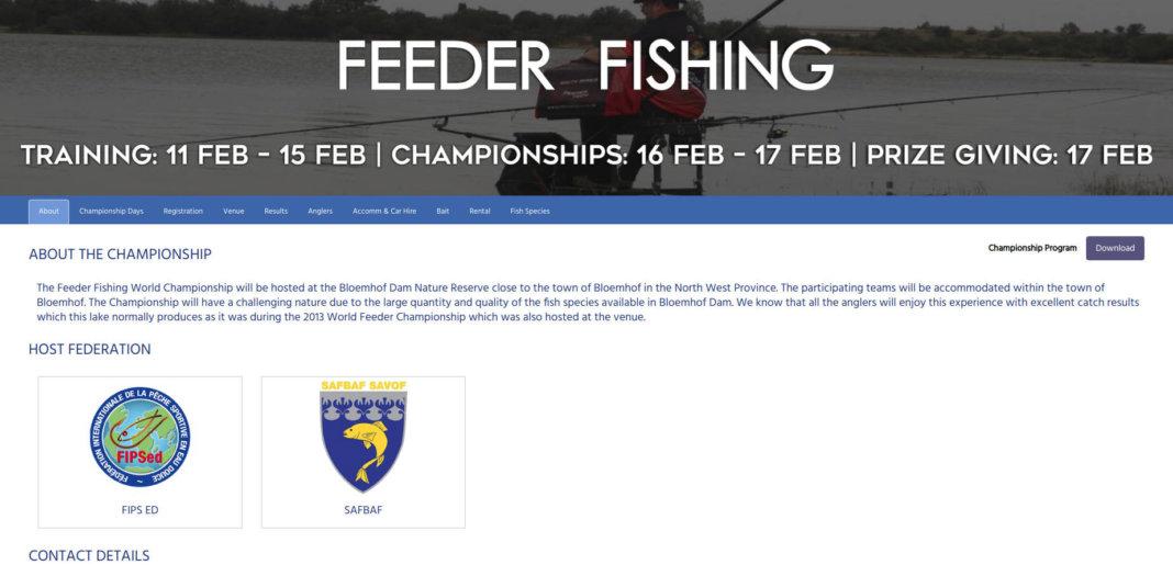 svěrové rybářské hry výsledky feeder