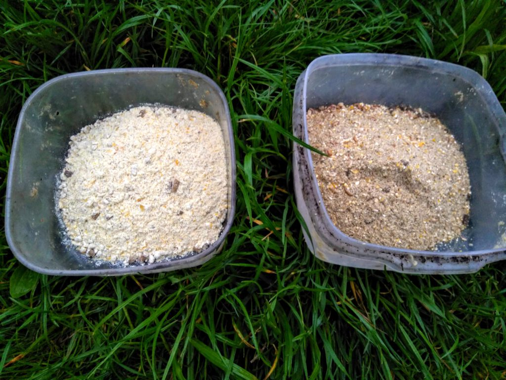 Vlevo Gold Corn, vpravo Mosquito