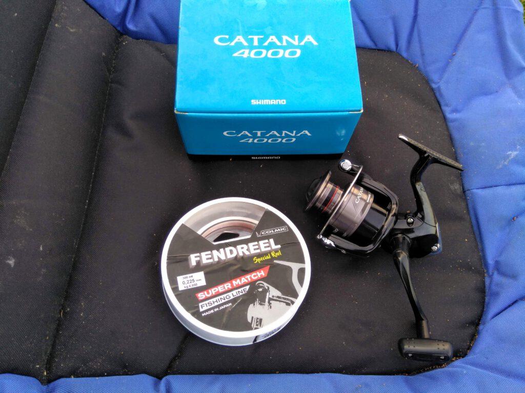 Naviják Shimano Catana 4000 FD