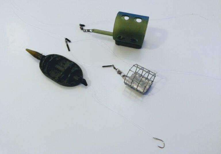 3 průběžné montáže na feeder