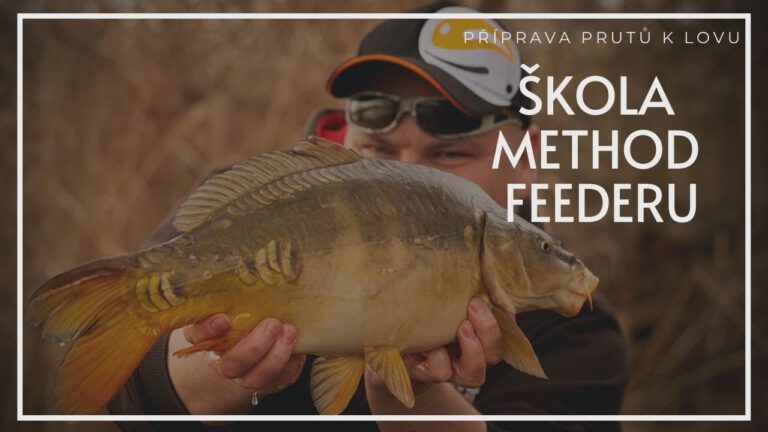 Škola Method Feederu: Příprava prutů k lovu method feeder